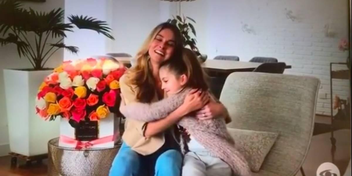 (Video) Hija de Catalina Gómez se roba el show en 'Día a Día', pero por doloroso momento