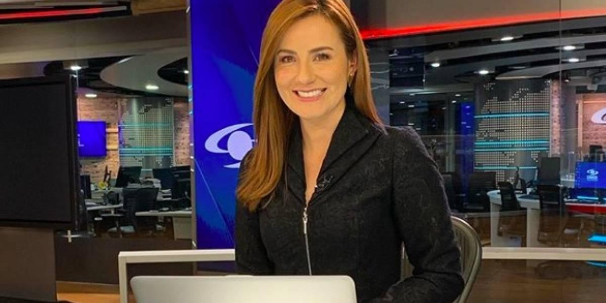 Así se veía Daniela Pachón antes de ser presentadora de 'Noticias Caracol'