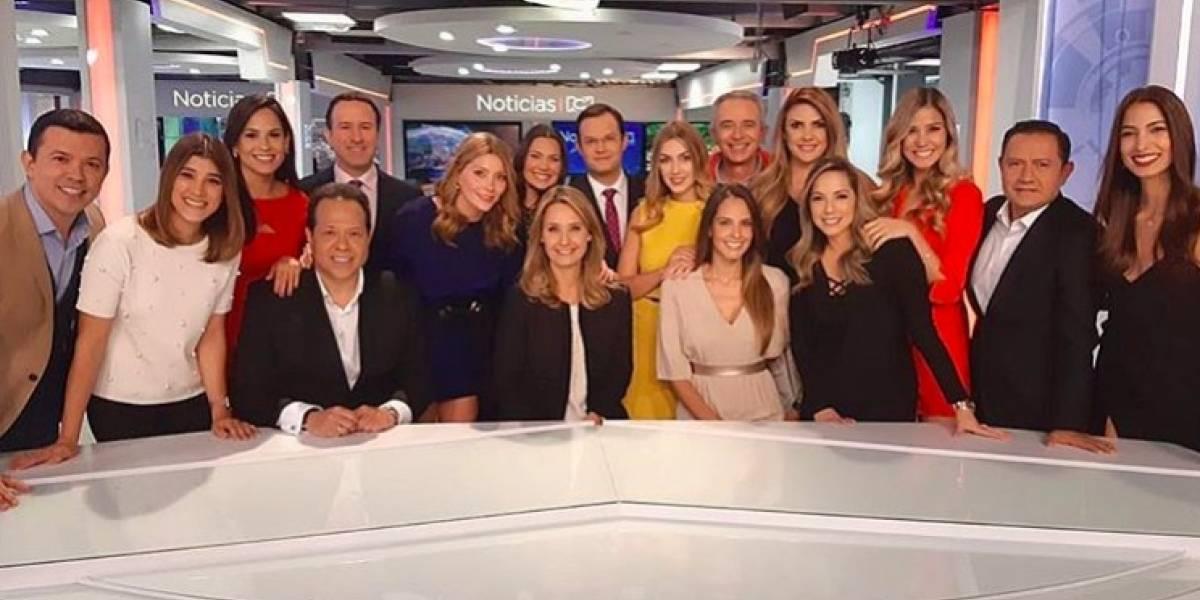 Presentadora de 'Noticias RCN' reveló su color real de ojos, luego de varios en televisión