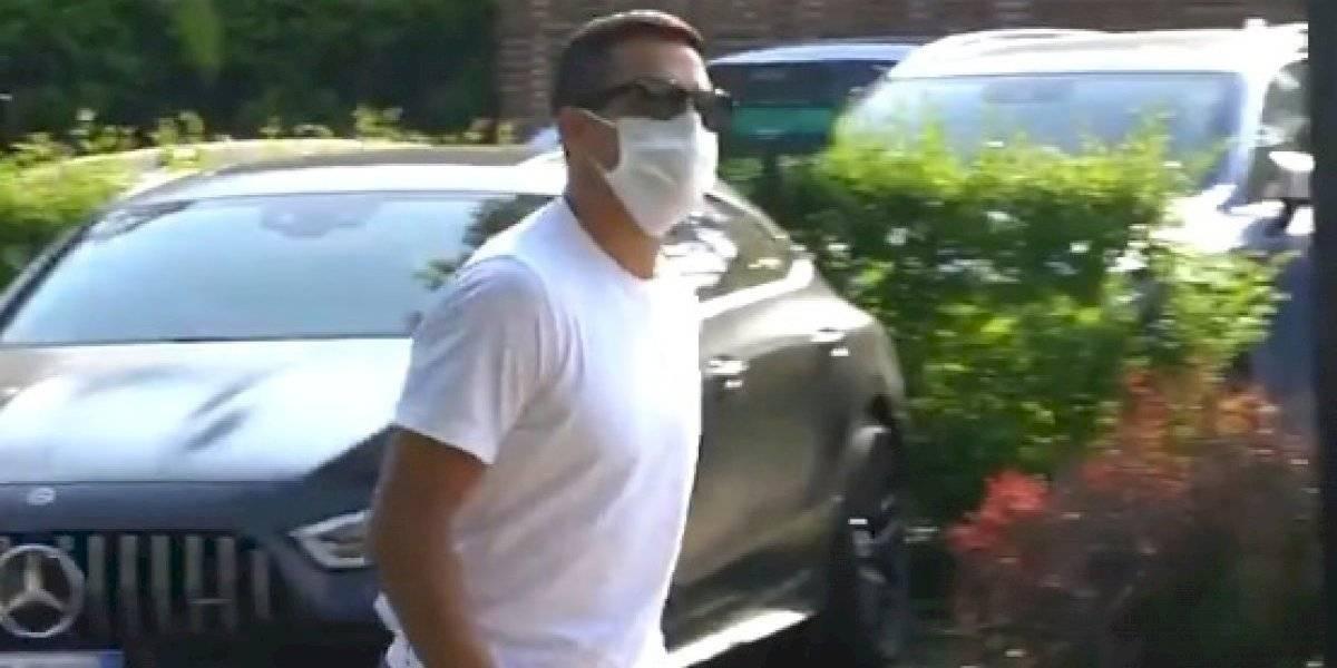 Alexis volvió voluntariamente con entrenamientos individuales en el Inter de Milán