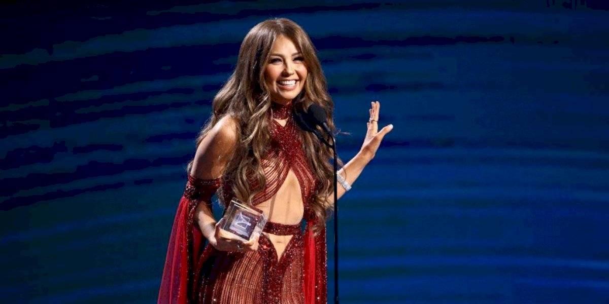 """Thalía sorprende con osada recreación de la intro de """"Marimar"""""""