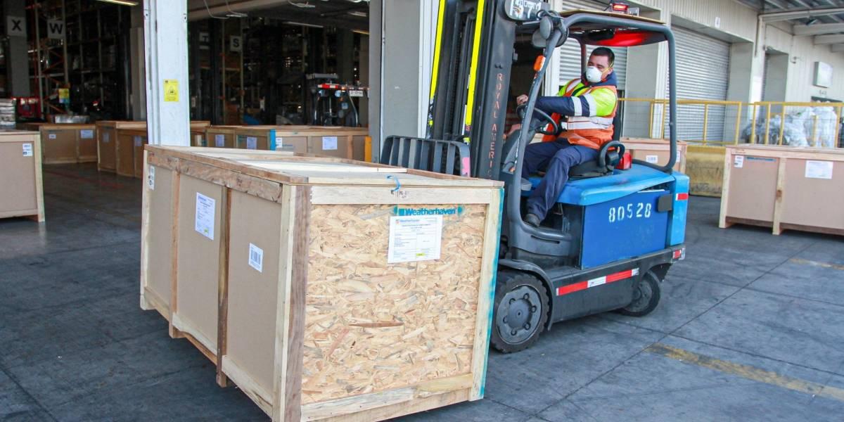 Ministerio de Salud informa de llegada a Chile del primer hospital modular