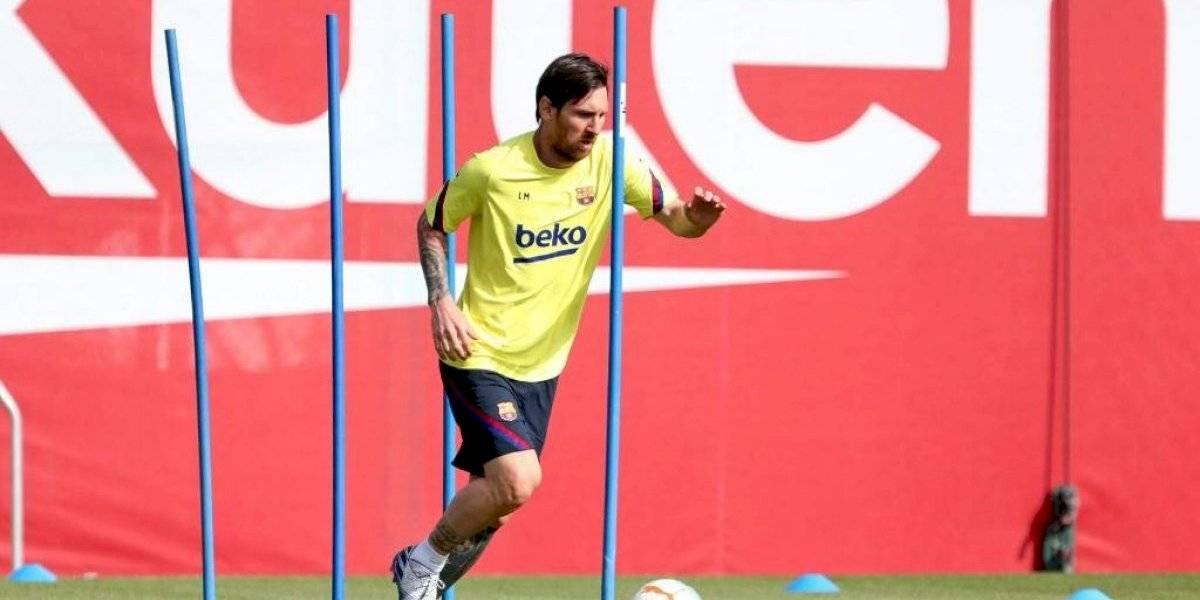 VIDEO. Así se vivió el primer entrenamiento del Barcelona