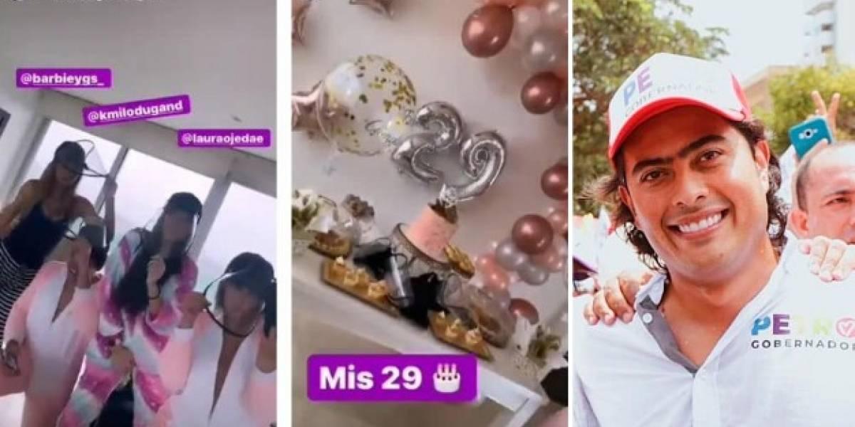 ¿Esposa de hijo de Gustavo Petro hizo una fiesta en plena cuarentena?
