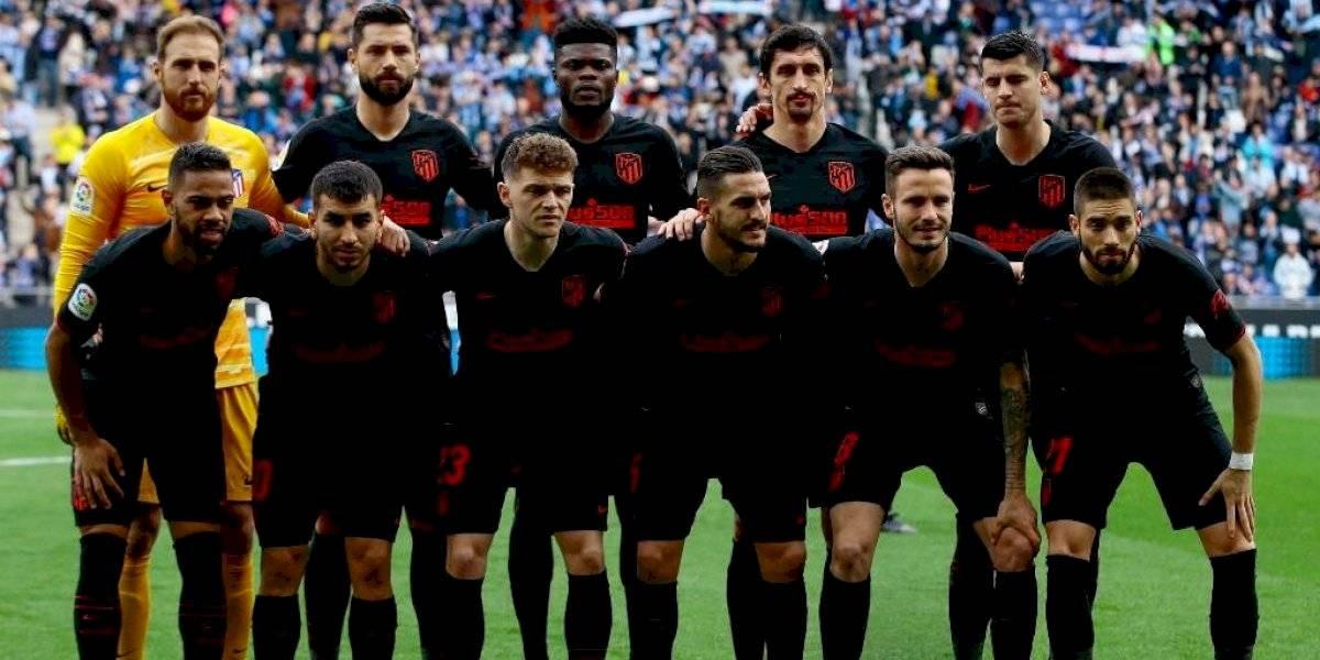 Jugador del Atlético de Madrid habría dado positivo con COVID-19