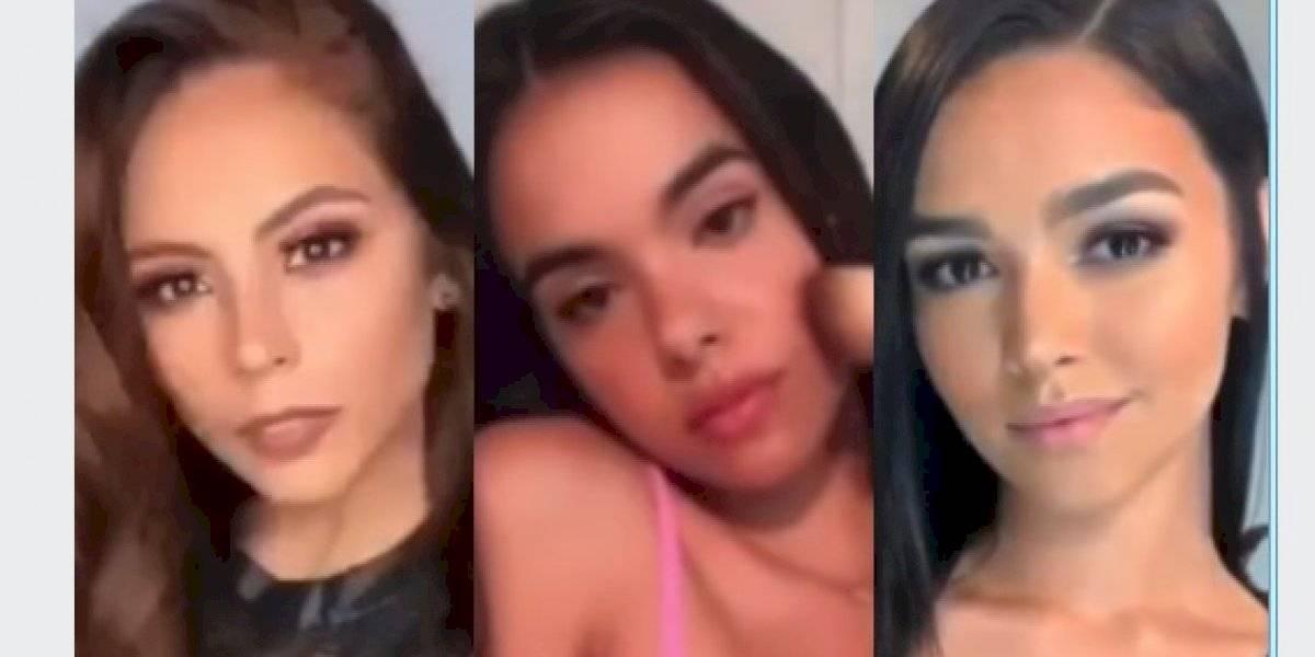 Las últimas 10 Miss Puerto Rico se unen para realizar famoso reto de las redes