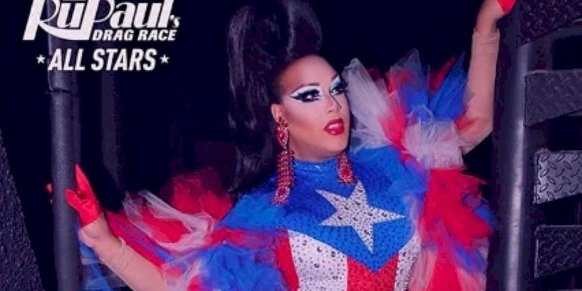 """Draga boricua regresa a buscar corona en """"RuPaul's Drag Race All Stars"""""""