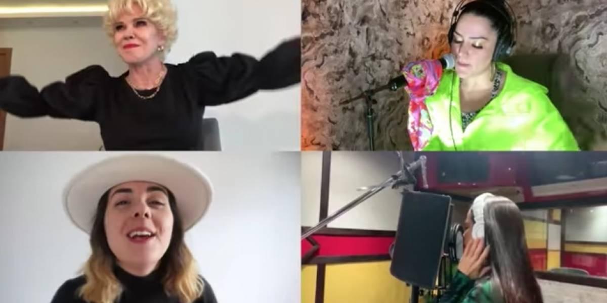 """Natti Natasha, Milly Quezada y Charityn se unen a casi 40 artistas dominicanos para entonar """"Resistiré"""""""