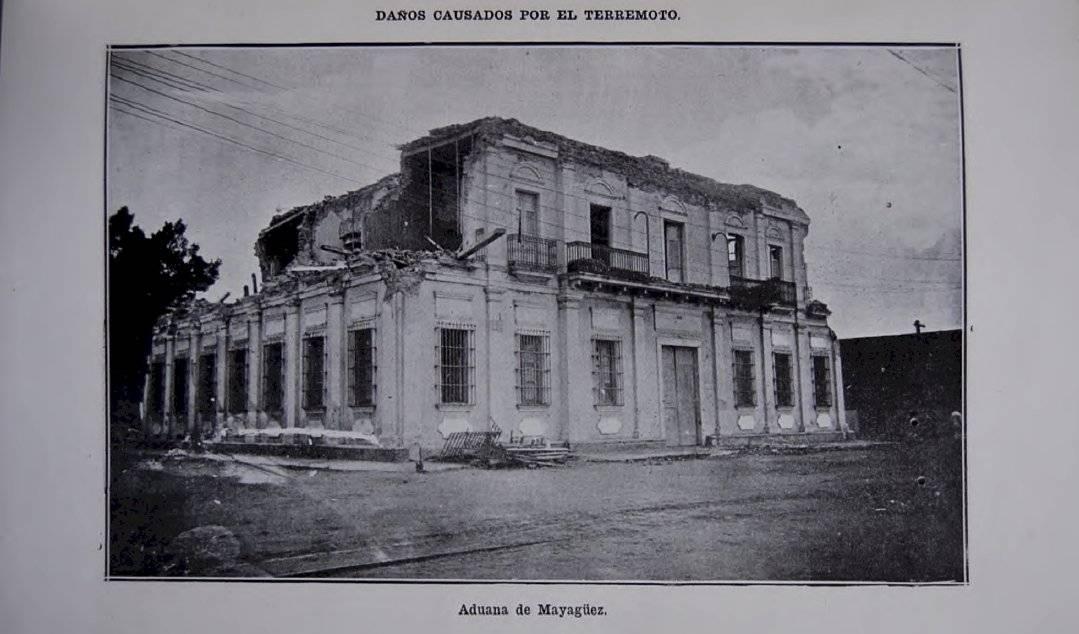 Imágenes del terremoto de 1918 en Ponce y Mayagüez.
