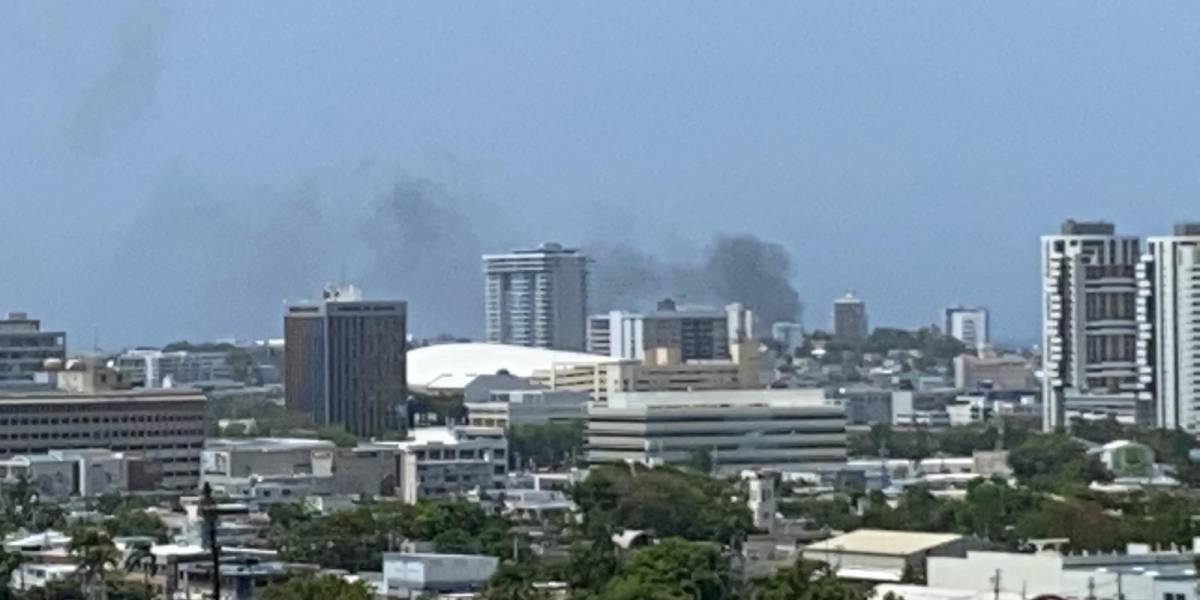 Bomberos reportan fuego en el sector de Ocean Park
