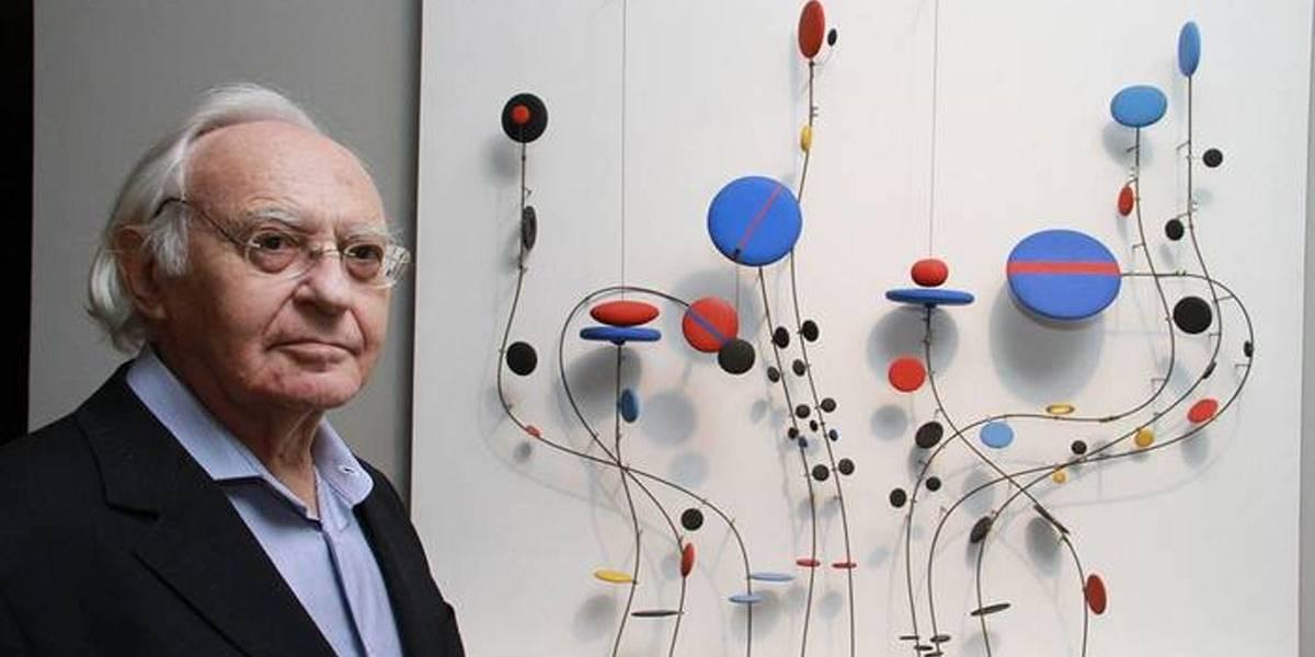 Artista plástico Abraham Palatnik morre aos 92 anos, vítima da covid-19
