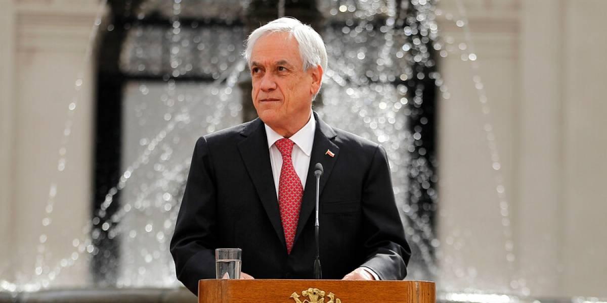 Encuesta Cadem: aprobación de Piñera vuelve a caer por segunda semana consecutiva al marcar 24%