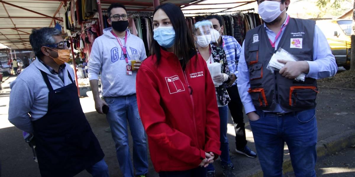 Seremi de Salud Metropolitana realizó 12.487 controles por uso de mascarillas