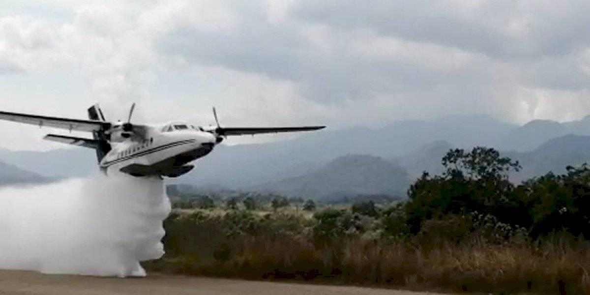 Gobierno de Brasil realizó donación para alquiler de aeronave cisterna para combatir incendios