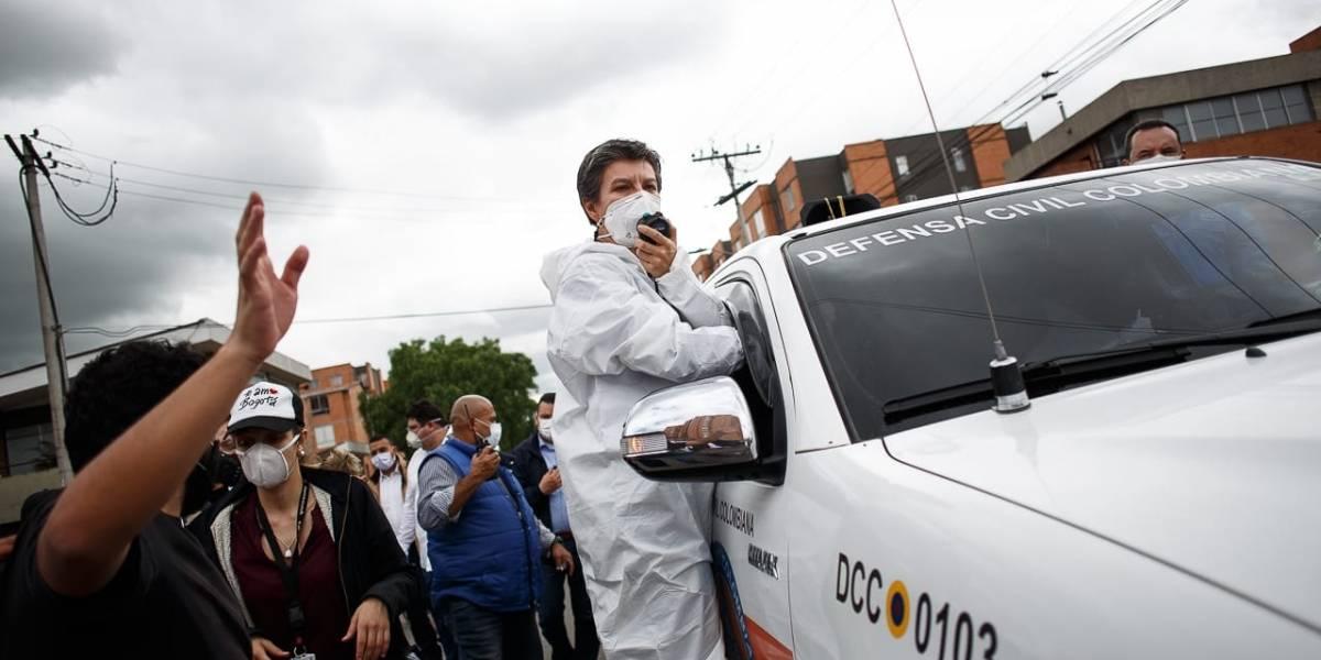 Inseguridad en Bogotá: nuevo cruce entre López y el Gobierno Duque