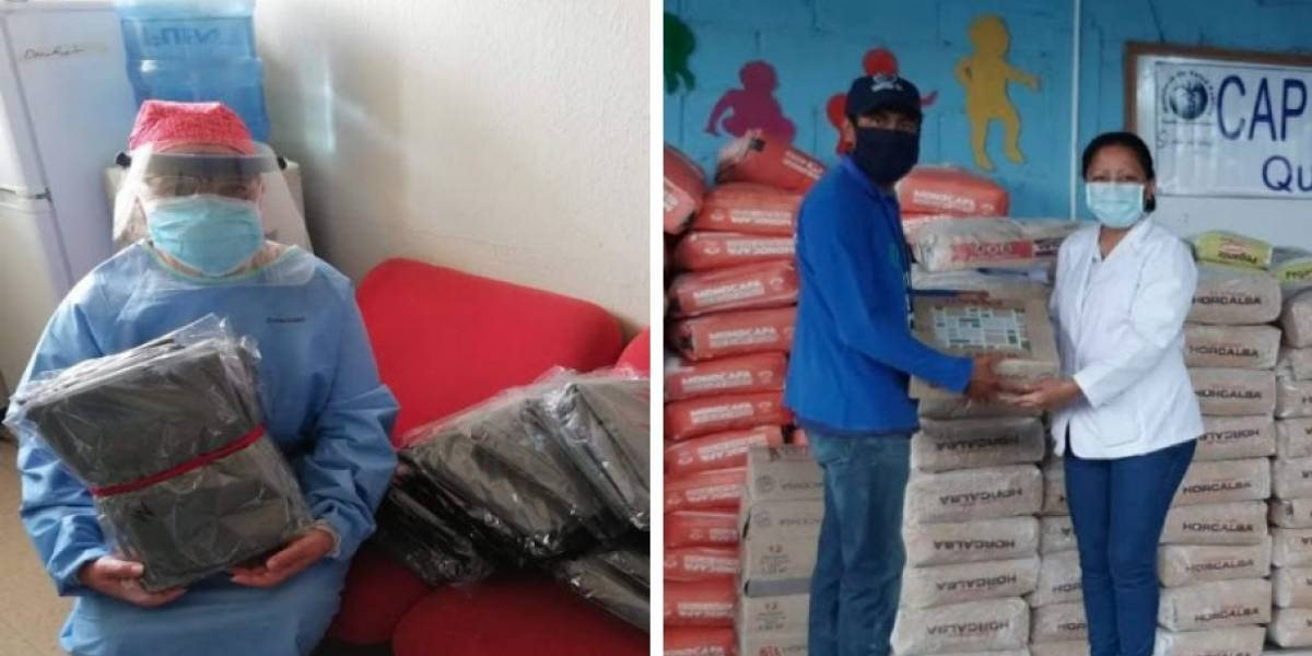 Médicos reciben equipo de protección donado por Rotary Guatemala e Ingenieros Sin Fronteras