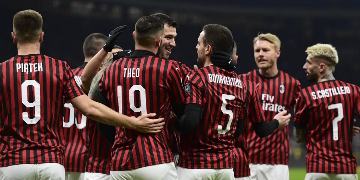 AC Milan confirma que en su plantilla no hay ningún caso de coronavirus