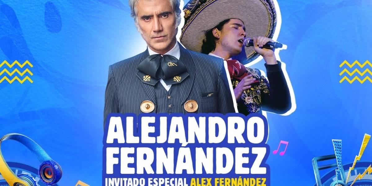 Alejandro Fernández celebra el día de las madres con un concierto exclusivo