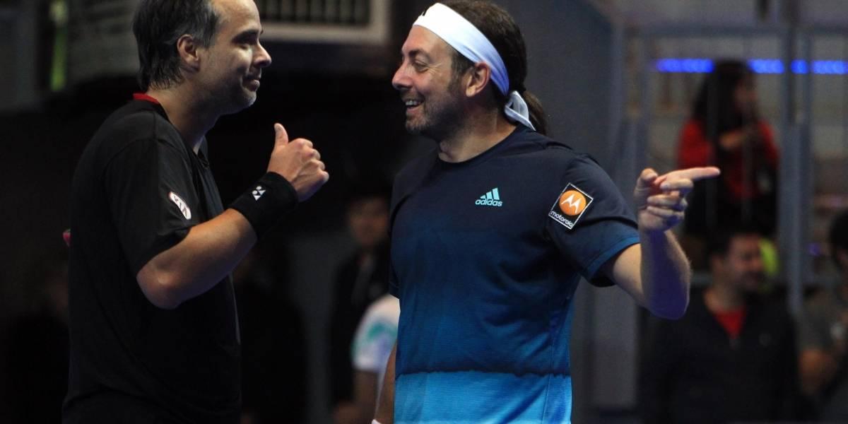 El tenis al seguro de cesantía: Massú y González se acogen a la Ley de protección del Empleo