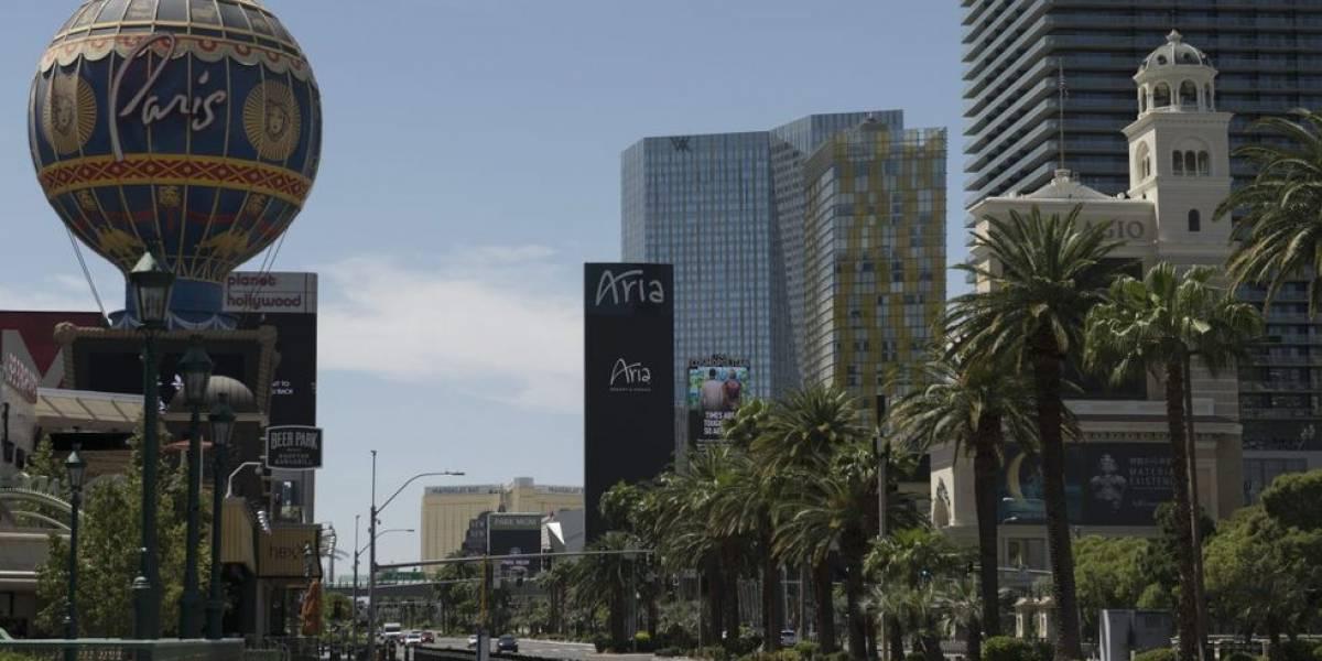 (FOTOS) EE.UU.: Las Vegas, un pueblo fantasma víctima de la COVID-19