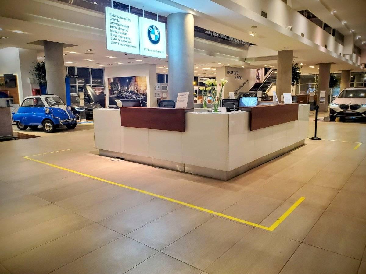 BMW Chile cuidado clientes por coronavirus. Gentileza