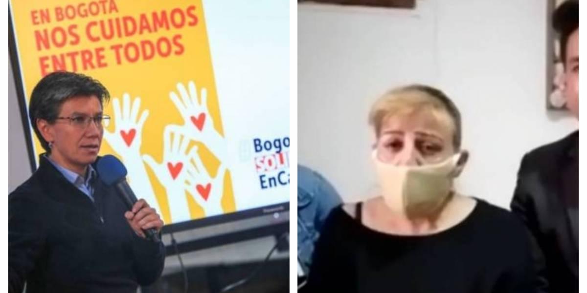 """""""Es trata de personas con explotación laboral"""": Claudia López sobre caso de Edy Fonseca"""