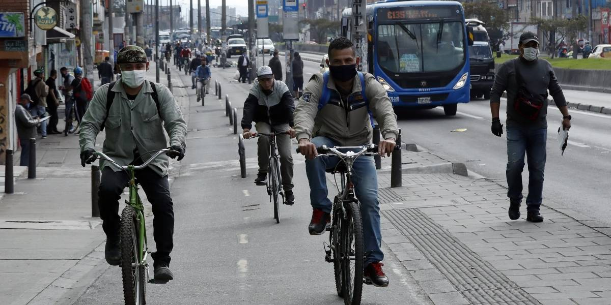 Medidas que empezarán a regir en Bogotá desde este lunes para contener la pandemia