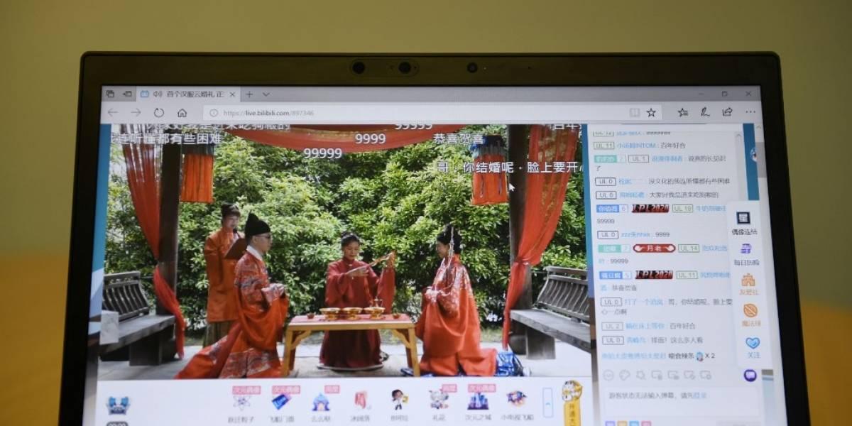 El 'sí quiero' en tiempos de coronavirus: los chinos se casan en línea