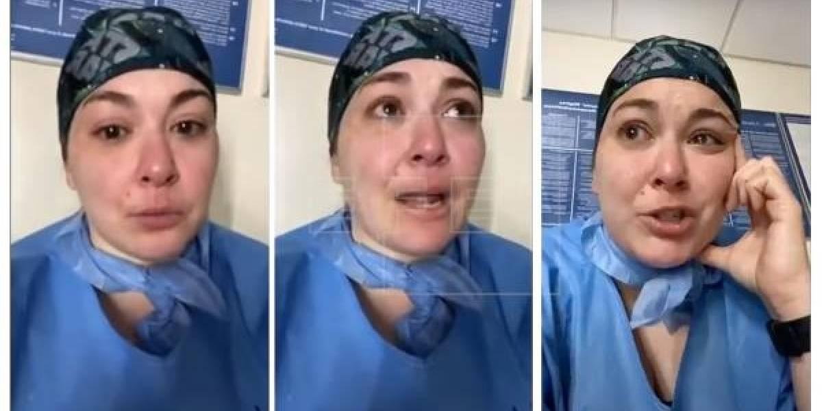 """Forte denuncia de enfermeira: """"Eles estão matando pacientes com coronavírus e ninguém se importa porque são de minorias"""""""