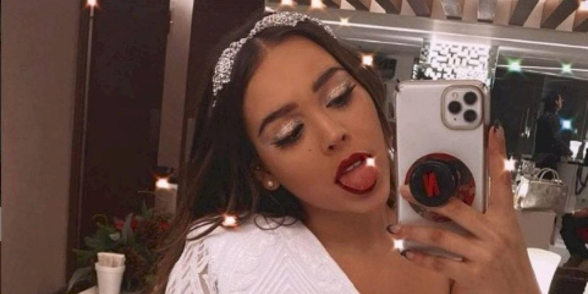 Danna Paola se olvida del sostén y sorprende con imponente topless en Instagram