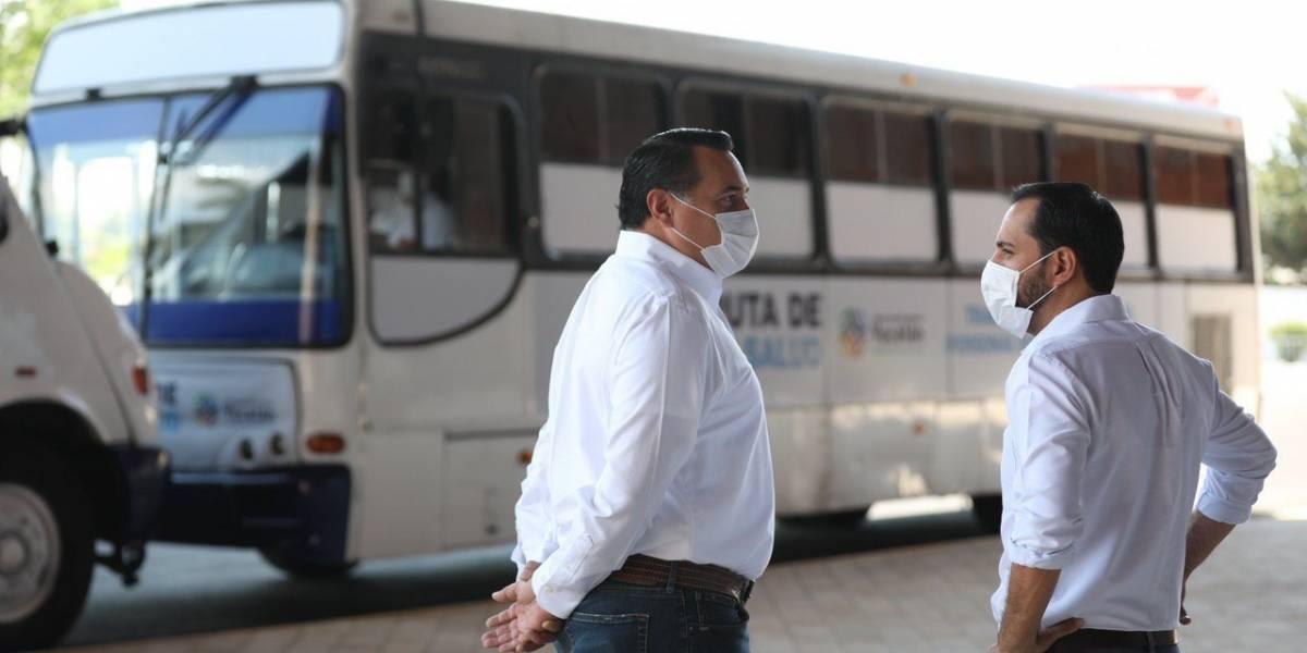 En Yucatán, el personal médico recibirá transporte gratuito