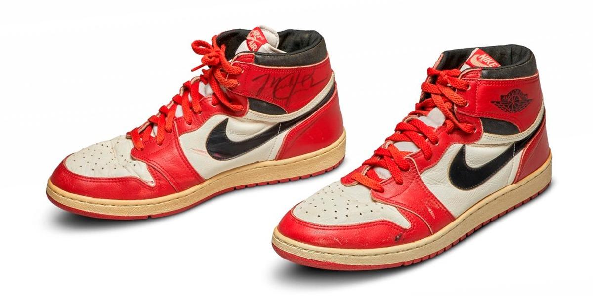 Los Nike Air originales de Michael Jordan salen a subasta