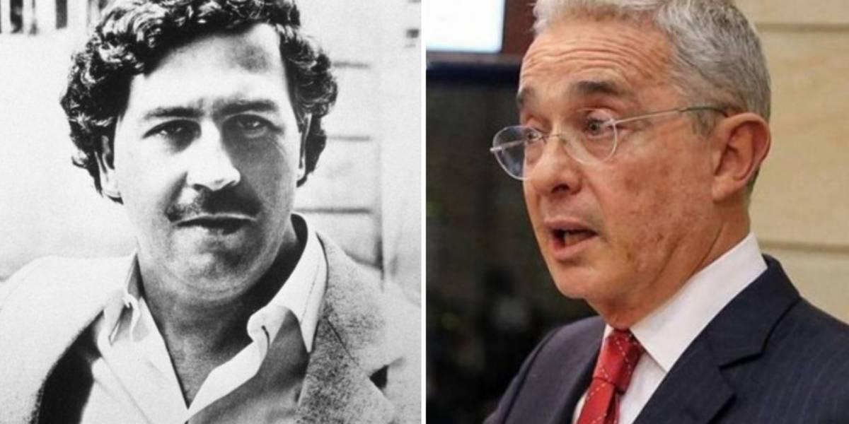 La verdad de la foto de Pablo Escobar con Álvaro Uribe que circula en las redes sociales