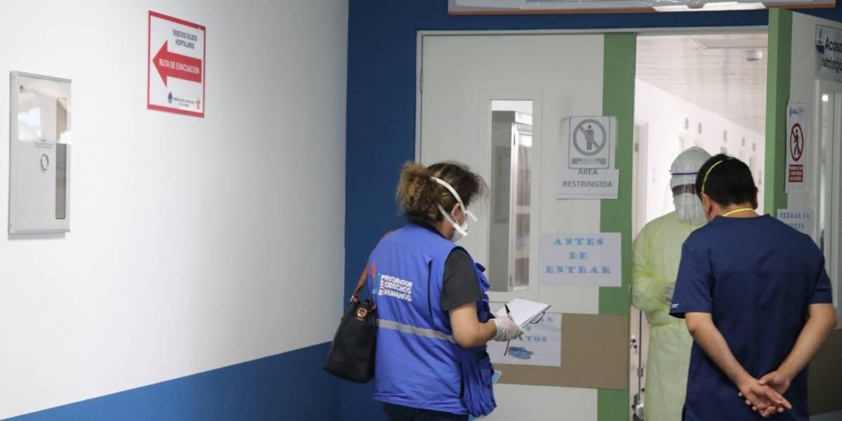 PDH: Médico del Hospital de Villa Nueva dio positivo por COVID-19