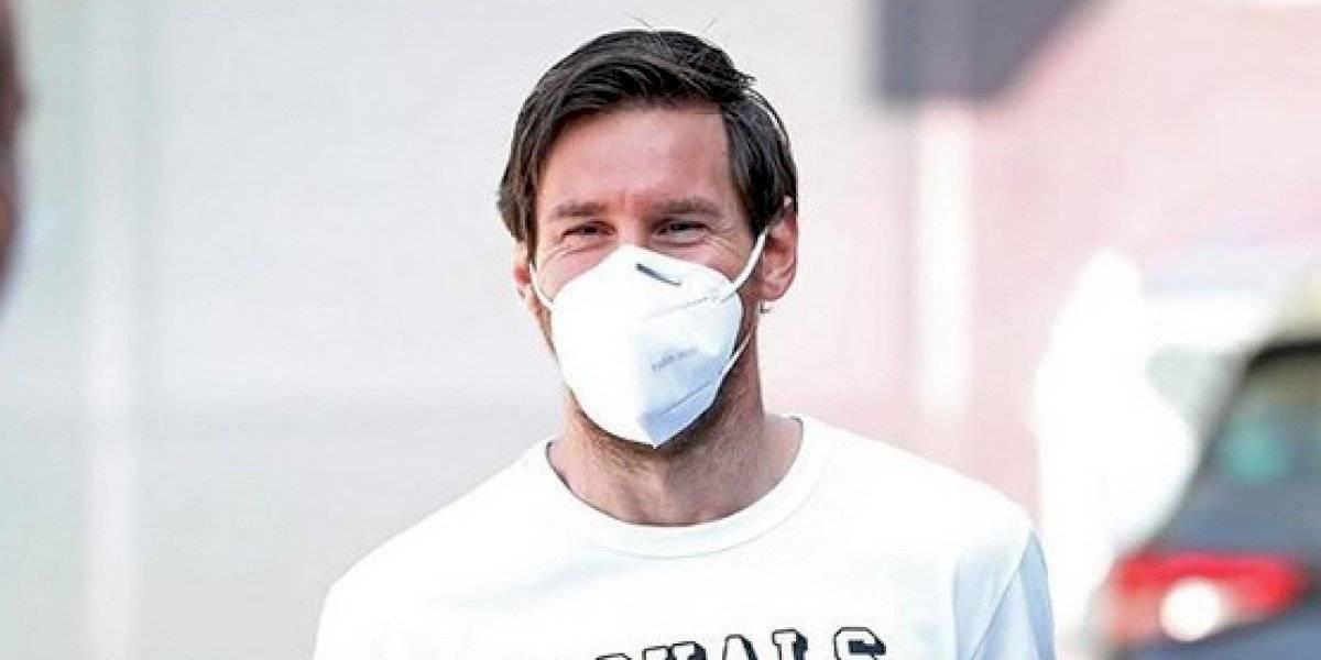 Lionel Messi dona medio millón de euros para apoyar a la salud argentina