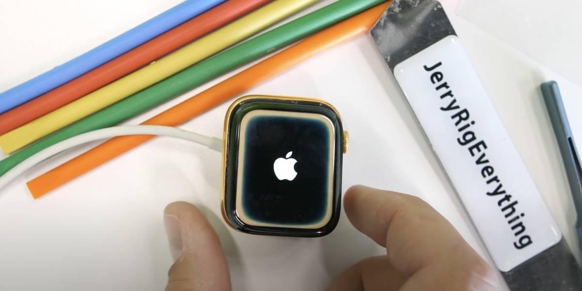 Rescatan un Apple Watch de oro de 24 kilates del fondo de un lago después de nueve meses y funciona