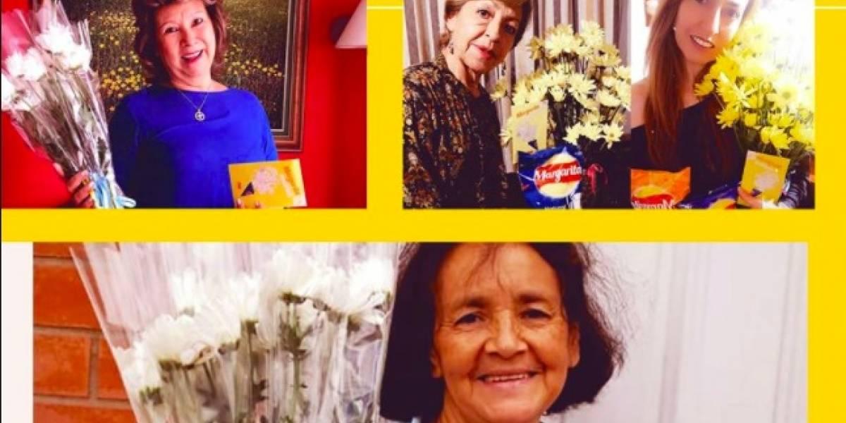 Margarita le puso sabor al Día de la madre y sorprendió a muchas con un hermoso regalo