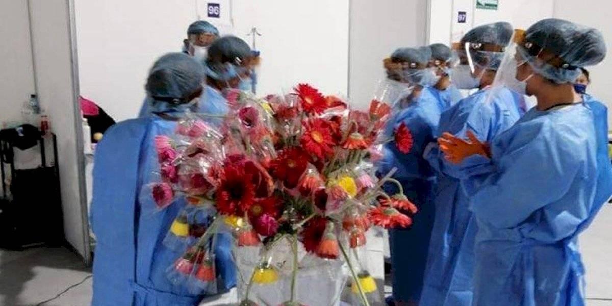 Día de la Madre: Celebran a pacientes contagiadas con Covid-19