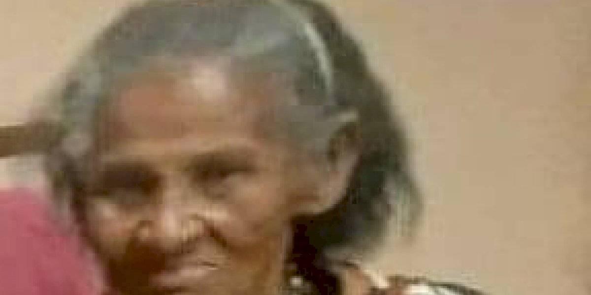 Solicitan ayuda para encontrar a una mujer desaparecida de 94 años