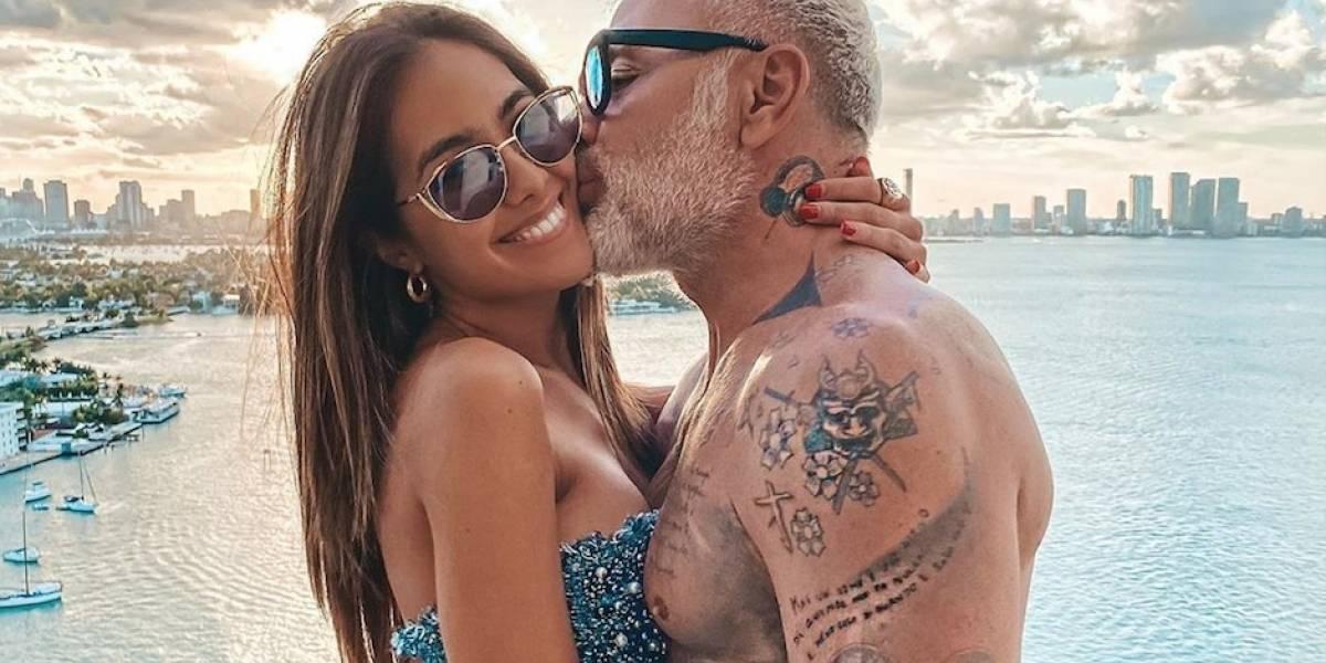 Novia de Gianluca Vacchi, Sharon Fonseca, está embarazada
