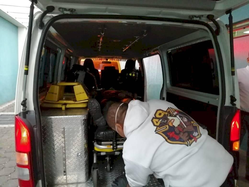 guardia herido en zona 4 de Mixco
