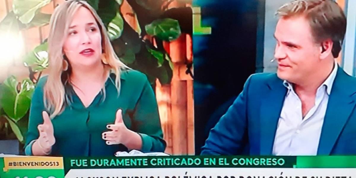 Diputados María José Hoffmann y Diego Schalper faltaron a la Comisión de Educación de la Cámara de Diputados para estar en un matinal