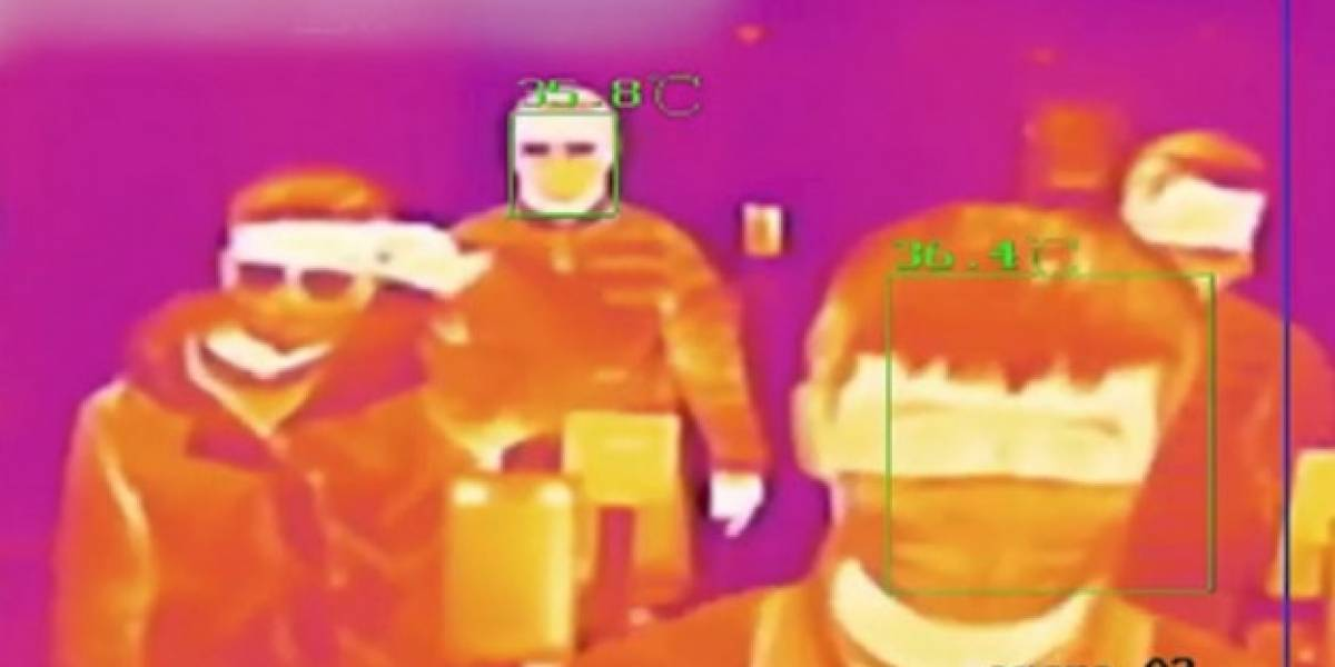 Así funciona el sistema de detección de fiebre de Legio