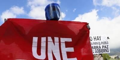 Plantón nacional en contra de los recortes presupuestarios a las universidades públicas.