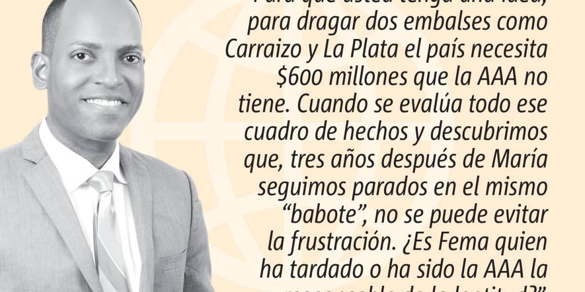 Opinión de Julio Rivera Saniel: El cheque, los embalses y Ponce de León