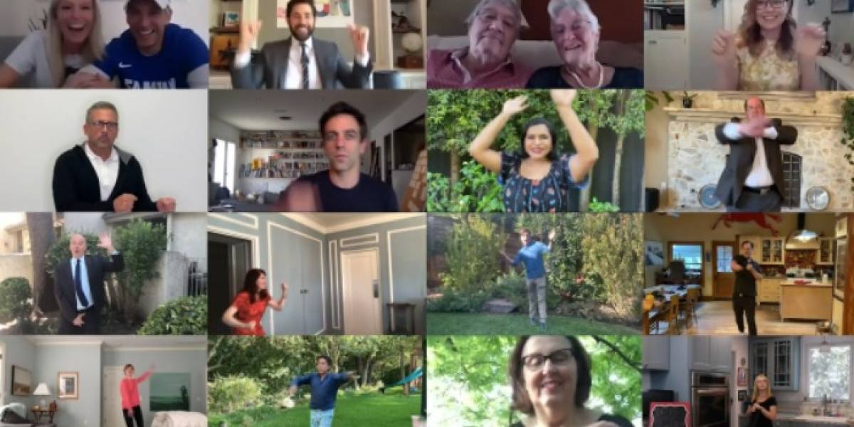 "Elenco de ""The Office"" se reúne para celebrar una boda virtual"