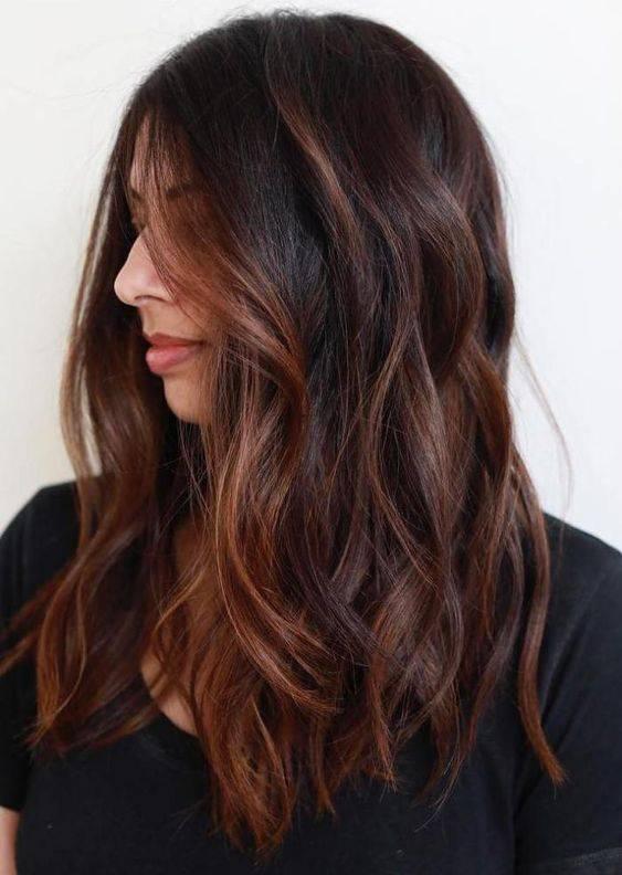 tendencias de tintes de cabello