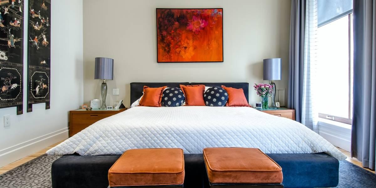 O truque de decoração simples e barato para deixar seu quarto mais elegante