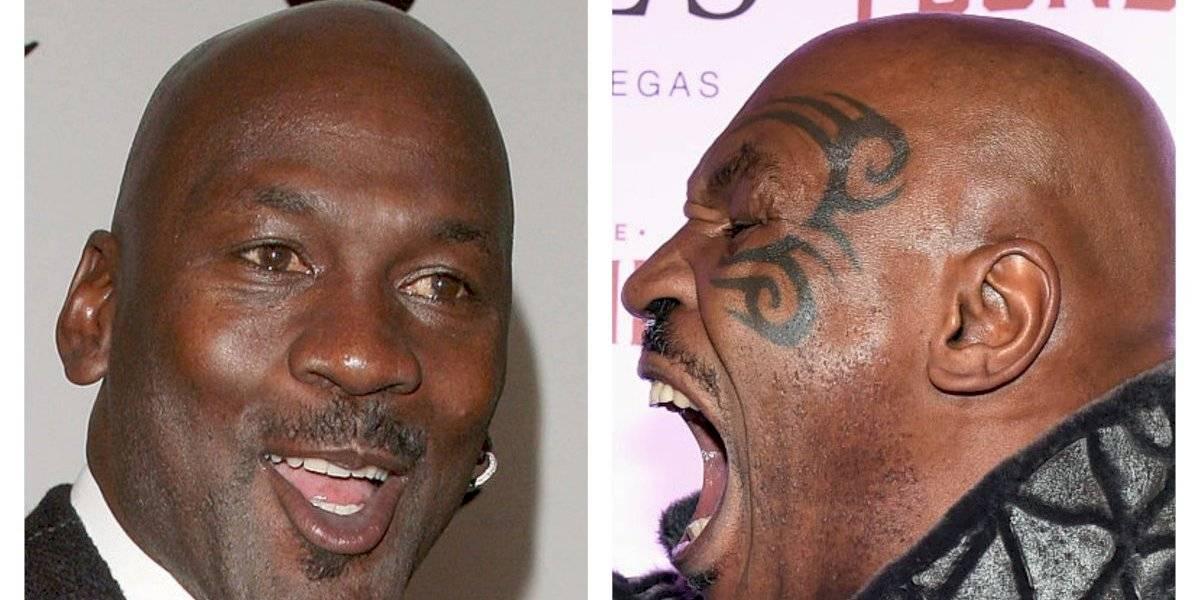 """Mike Tyson quiso noquear a Michael Jordan: """"Le iba a patear el c..."""""""