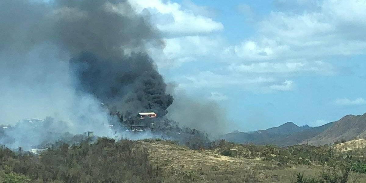 Se queman dos casas en Juana Díaz